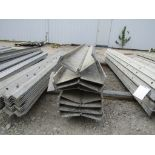 """(8) 7"""" x 8' Durand Concrete Forms Hinged, Smooth 6-12 Hole Pattern, Located in Mt. Pleasant, IA"""