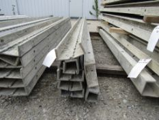 "(7) 2 1/2"" x 8' Durand Concrete Forms Hinged, Smooth 6-12 Hole Pattern, Located in Mt. Pleasant, IA"