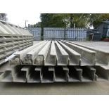 """(10) 5"""" x 5"""" x 9' Durand Concrete Forms, Inside Corners, Smooth 6-12 Hole Pattern, Full"""