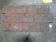 (2) Concrete Stamps, Located in Mt. Pleasant, IA