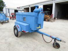 Sullair Compressor, Serial #80XN10-1485,