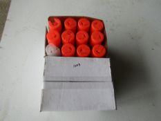 Box Marking Paint, Orange Fluorescent,