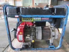 Mega Force 6500 Watt Generator, 120/240 Volt & 120 Volt, GN-360 13 hp Motor,,