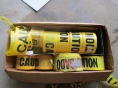 Box Caution Tape