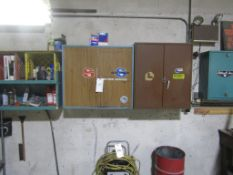 Wall Cabinet with Contents