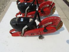 "Hilti DSKC62-12 Cut Off Saw, Serial #1364030334, Max Blade 12"","