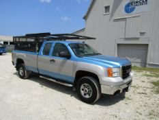 2007 GMC Sierra C3500 Crew Cab Utility Truck, VIN #1GTHC39K07E596191, 113747 miles, Automatic