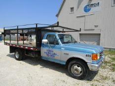 1991 Ford F-350 Form Truck, Dually, VIN #2FDKF37MXMCA40615, 48682 miles, Automatic Transmission,