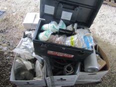 Pallet of Hydraulic Pump Parts