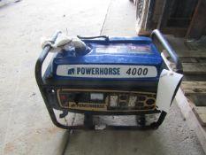 Powerhorse 4000 Generator, 120 Volt,