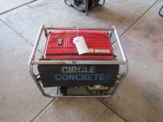 Honda EM5000SX Generator, 240/120 Volt, Honda Electronic Ignition,