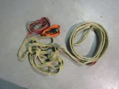 Tow Ropes and Ratchets Straps