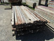 "(66) 1"" x 8'; (24) 2"" x 8'; (31) 2 1/2"" x 8', Symons Steel Ply Forms"