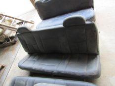 (3) Bench Truck Seats