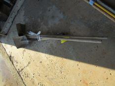 (1) Shovel & (2) Concrete Brooms