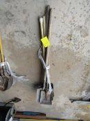 (5) Square Shovels