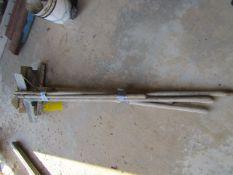 (2) Hoes & (4) Concrete Scrapper