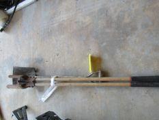 (1) Post Hole Digger & (1) Shovel