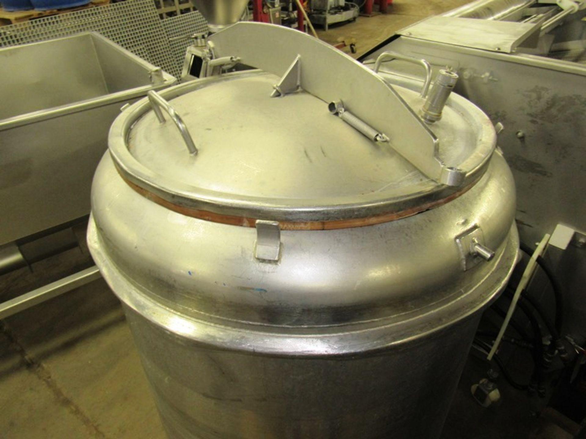 "Lot 53 - Globus Stainless Steel Tumbling Drum, 32"" Dia. X 48"" D"