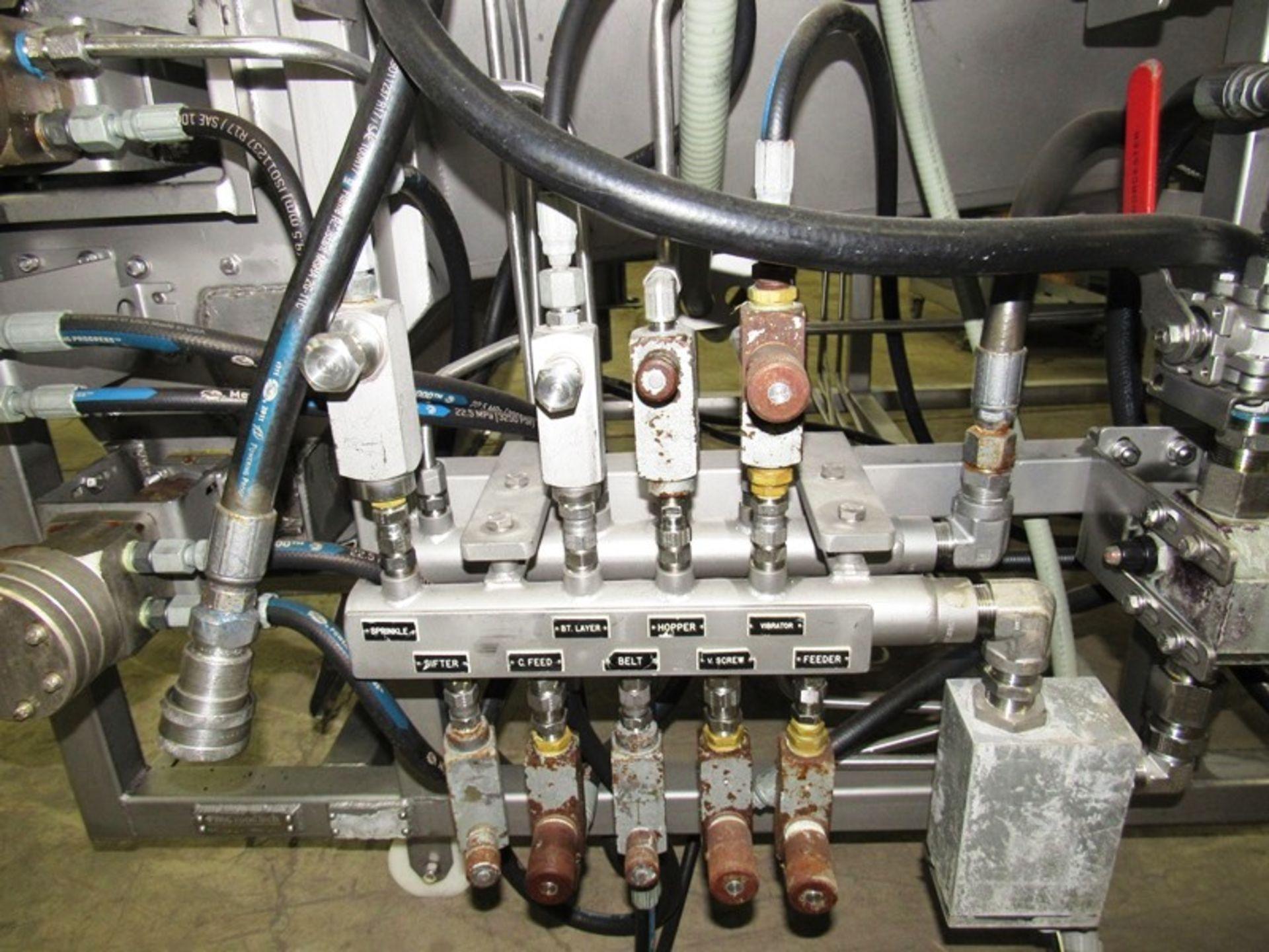Lot 6 - Stein Mdl. XL-40 Breader, hydraulic drive & controls, Ser. #174 (bent doors)