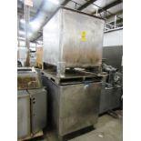 "Lot 49 - Stainless Steel Vats, 36"" W X 48"" L X 36"" D"