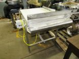 "Lot 39 - Stainless Steel Conveyor, 28"" W X 48"" L, no motor, gearbox"