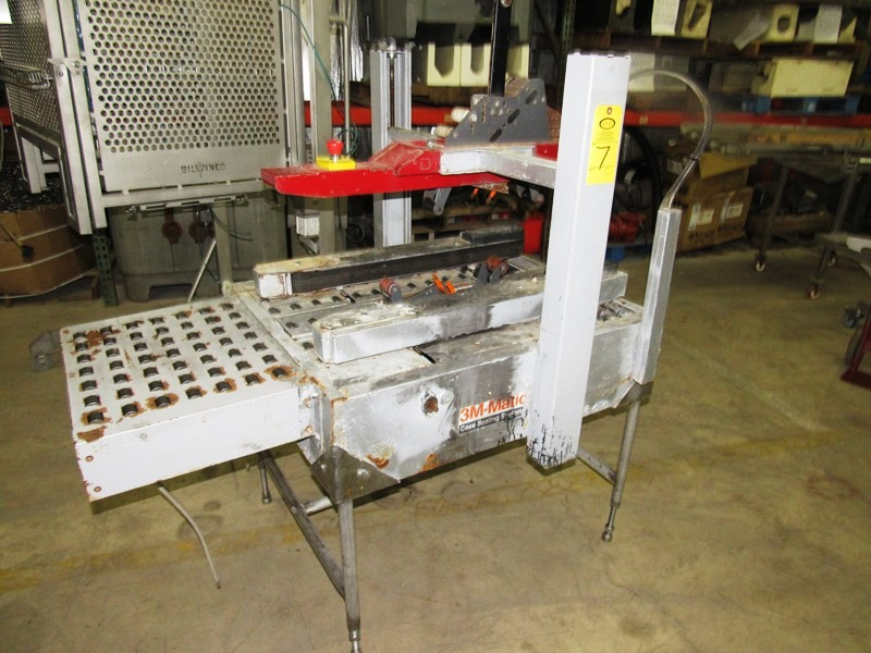 Lot 7 - 3M Box Sealer Top & Bottom Tapers