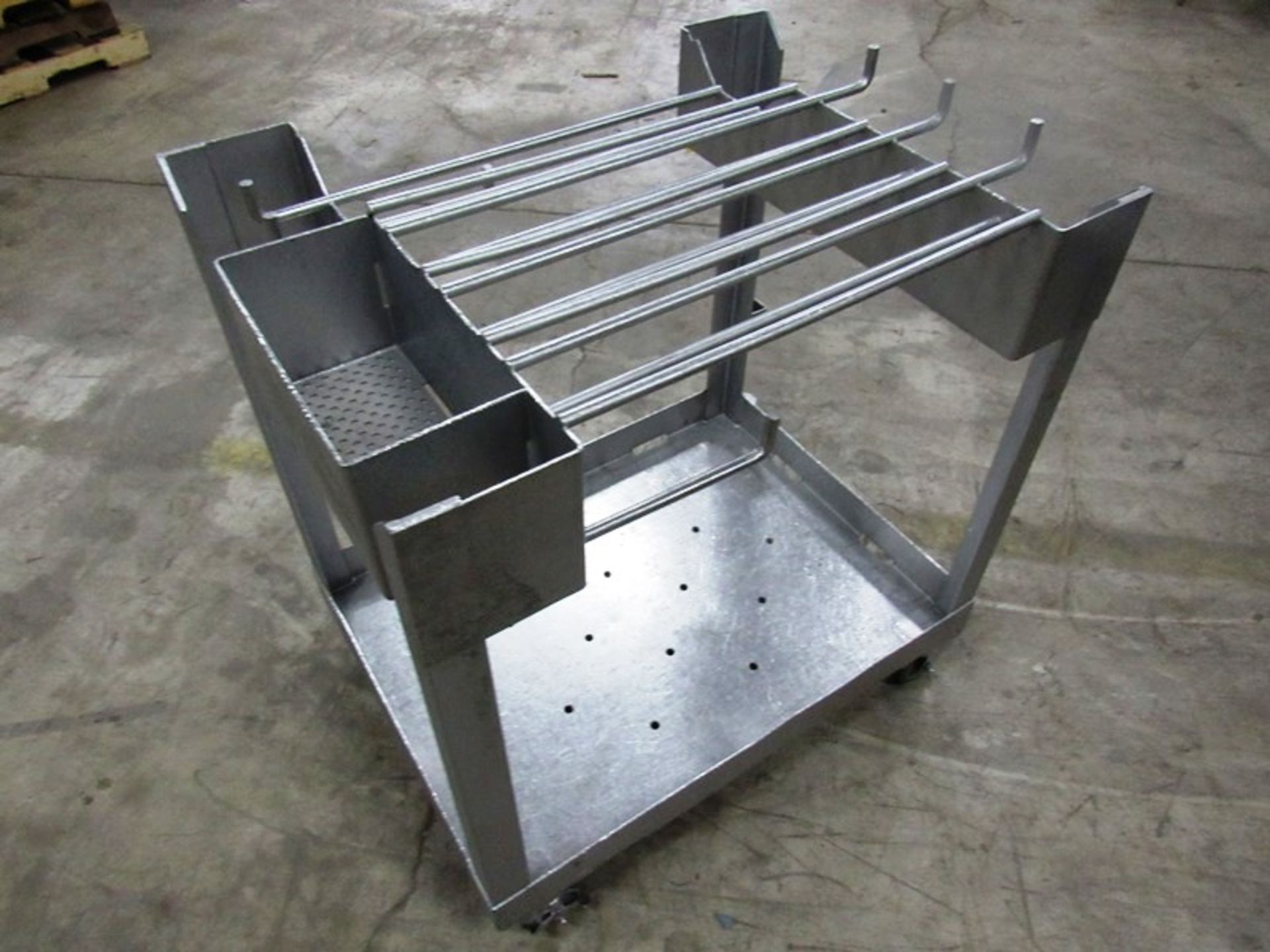 """Lot 11 - Stainless Steel Portable Parts Cart, 32"""" X 24"""" L X 35"""" T"""