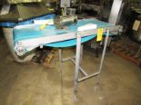 "Lot 19 - Stainless Steel Conveyor, 20"" W X 54"" L neoprene belt, 1/2 h.p., stainless steel motor, 208/230/"