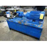 "Lot 15 - Hydraulic Power Pack, 26"" W X 60"" L X 17"" D reservoir, 25 h.p., 230/460 volt motor on pump"