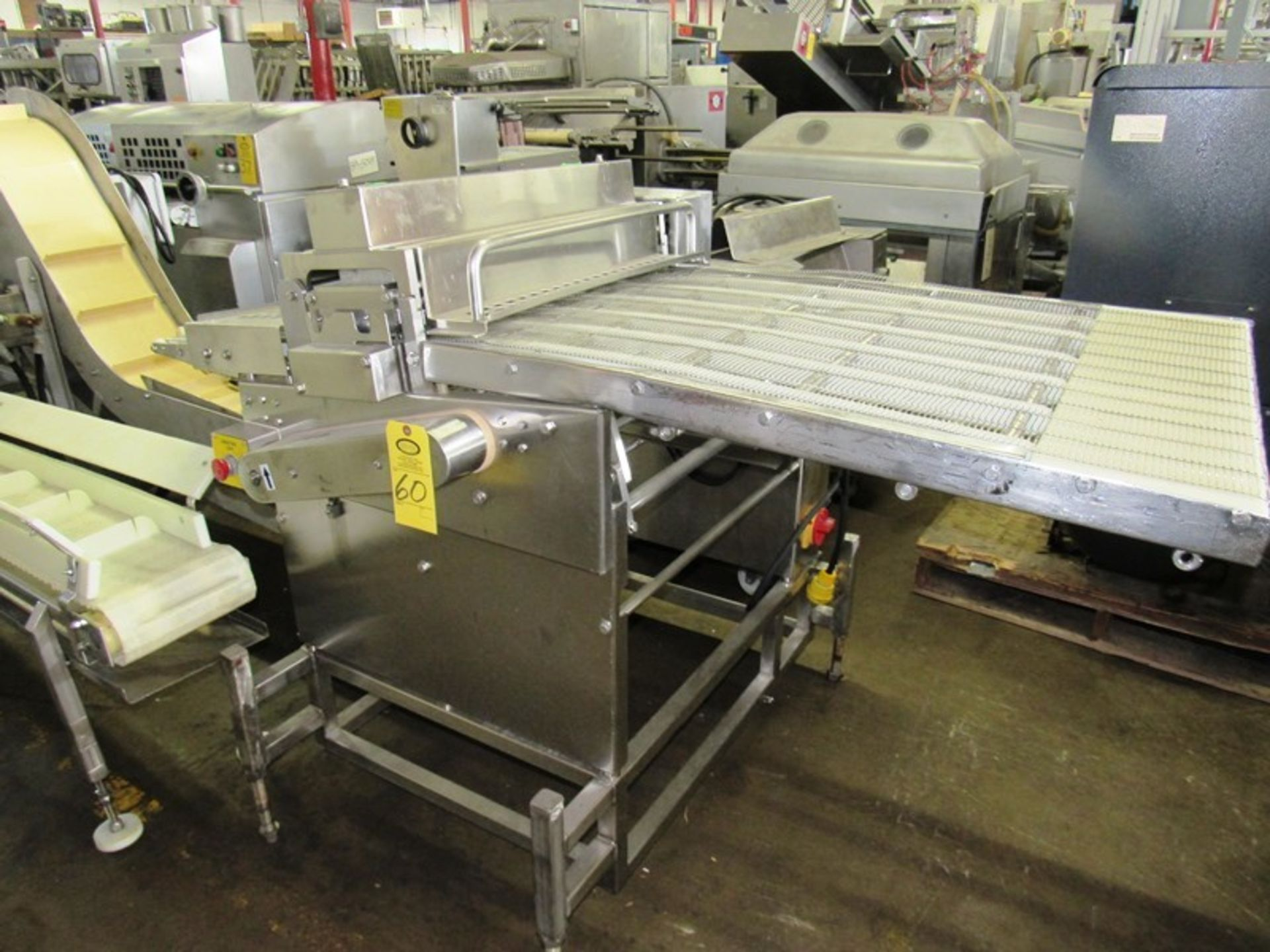 Lot 60 - Formax Mdl. MC-27 Cuber/Perforator, stainless steel belt, top & bottom perforating rollers