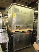 "Lot 46 - Stainless Steel Vats, 42"" W X 47"" L X 36"" D"
