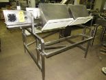 "Lot 31 - Stainless Steel Grading Conveyor (no belt), 12"" W X 88"" L, (2) stations each side"