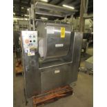 "Lot 81 - Magna Mixer Mdl 50H-401-208 3 Bar Dough Mixer, mf. 2005, 18"" L X 22 1/2"" W X 26"" D. 3 mix speeds,"