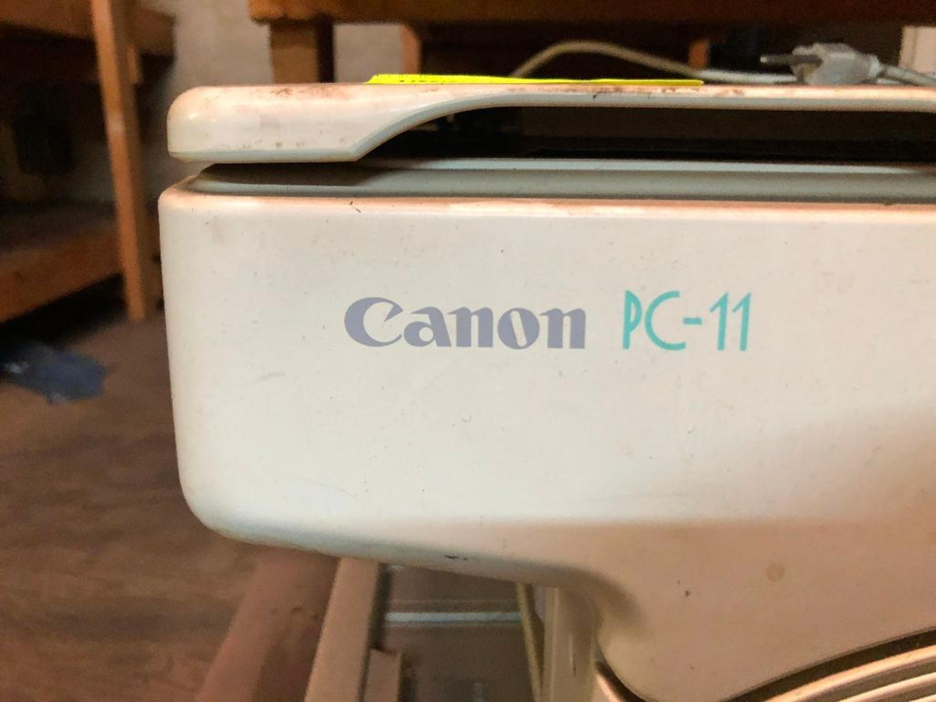 Lot 135 - DESCRIPTION: CANON PC-11 OFFICE PRINTER ADDITIONAL INFORMATION: USED CONDITION. LOCATION: SECOND FLO