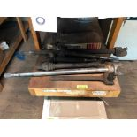 Lot 134 - DESCRIPTION: LARGE ASSORTMENT OF DRIVE SHAFT COMPONENTS ADDITIONAL INFORMATION: SEE ADDITIONAL PHOTO