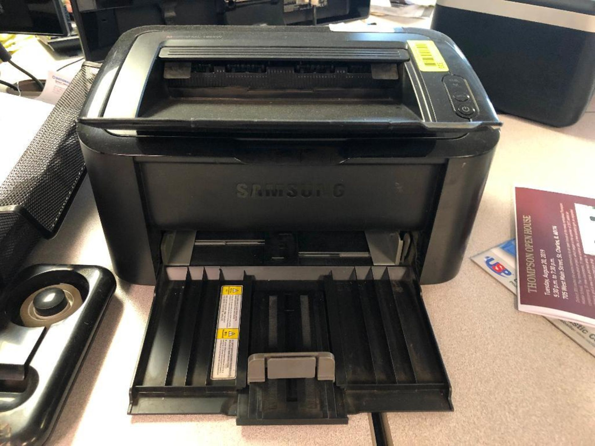 Lot 320 - DESCRIPTION: SAMSUNG ML-1865W OFFICE PRINTER BRAND / MODEL: SAMSUNG ML-1865W LOCATION: OFFICE QTY: 1