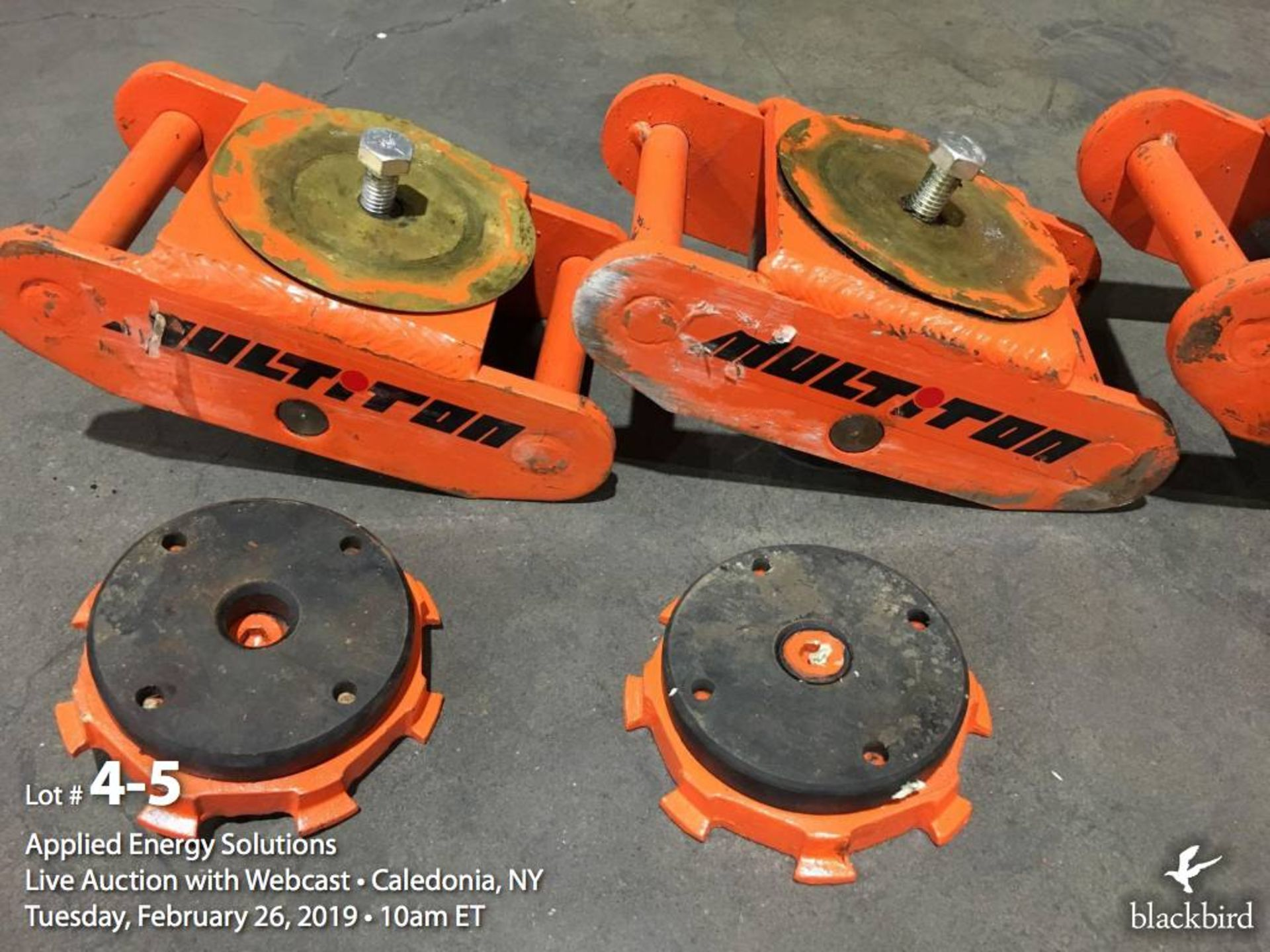 MultiTon equipment skate set with case - Image 5 of 5