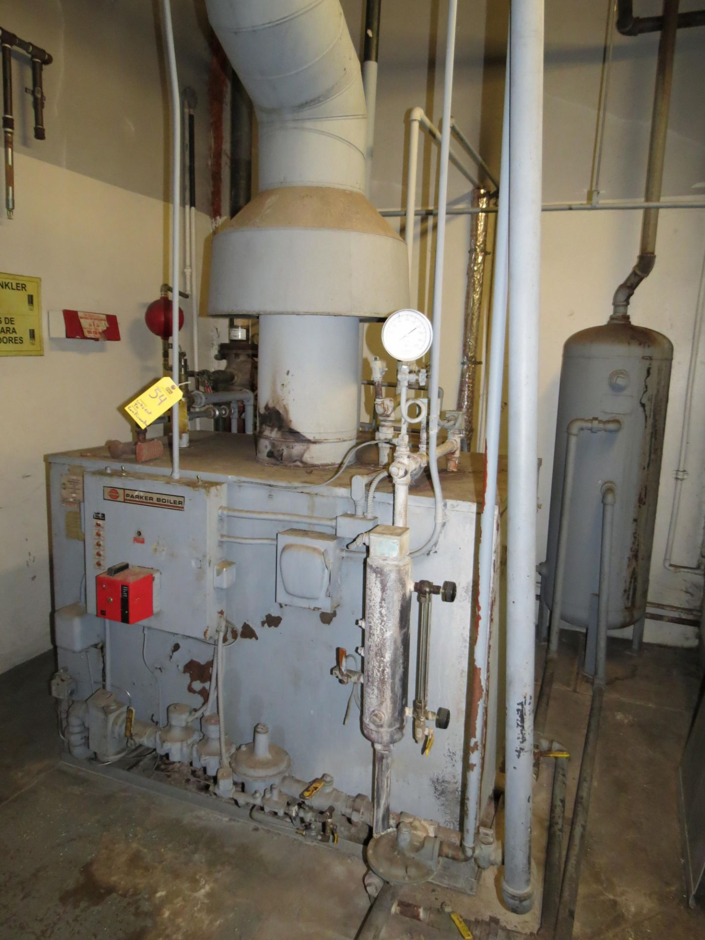 Lot 54 - 1980 25 HP PARKER BOILER SN: 25442 (SUBJECT TO CONFIRMATION)
