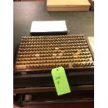 Lotto 300f - Pin Gage Set .275-.500