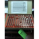 Lotto 300d - Vermont Pin Gage Set .501-.625
