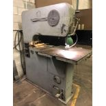 Lot 4200 - DoAll Band Saw 36 in throat
