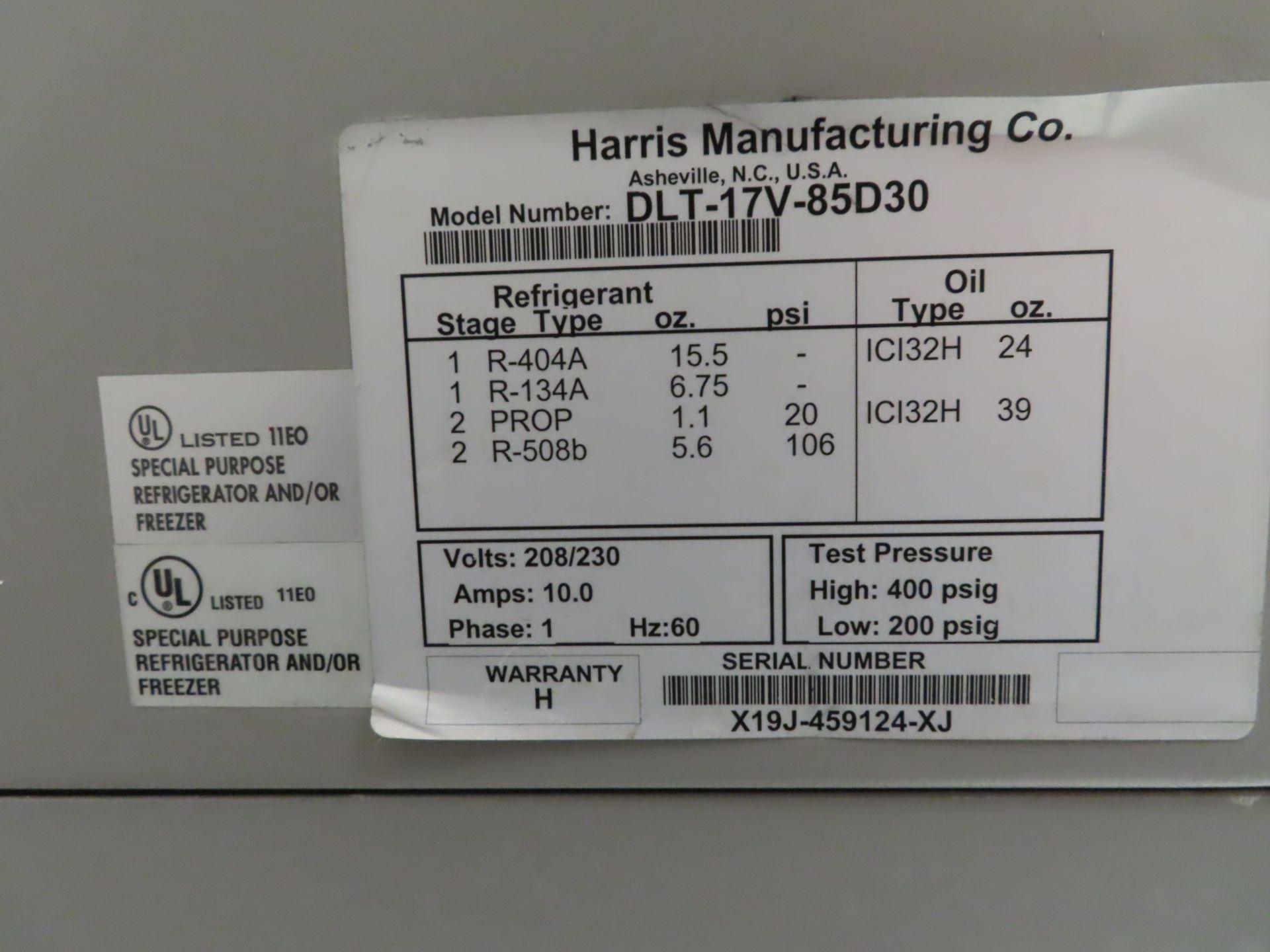 Lot 825 - Revco DLT-17V-85D30 Biomedical freezer, s/n X19J-459124-XJ, located B wing, 3rd floor, room 360A