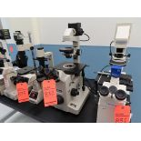 Lot 832 - Nikon inverted sterozoom microscope with light source and phase co trast, located B wing, 3rd floor,