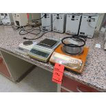 Lot 1796 - Lot of (3) assorted scales including: (1) Sartorius E2000D, (1) Mettler Toledo PG503-S, (1) Ohaus