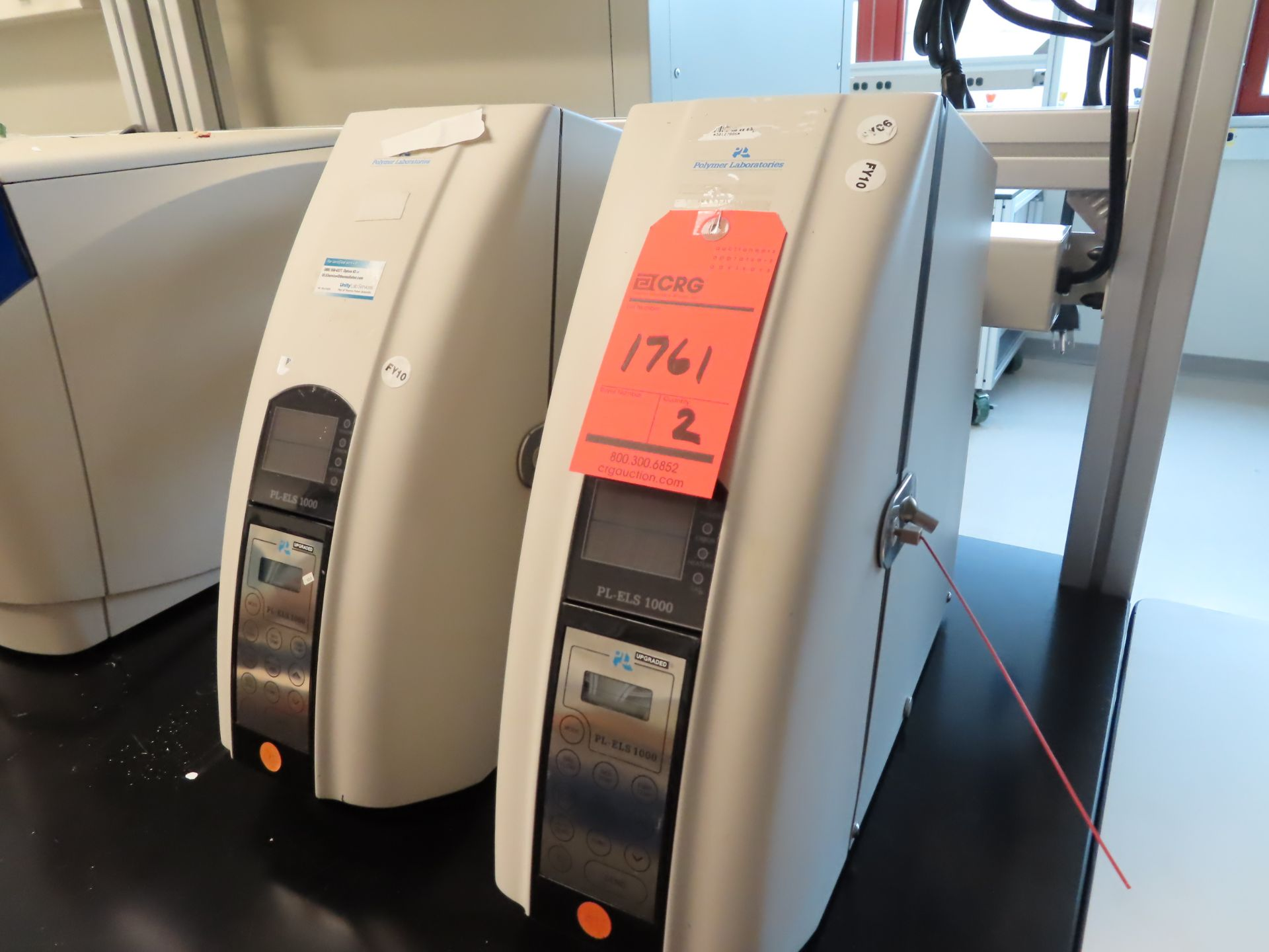 Lot 1761 - Lot of (2) Polymer Laboritories PL-ELS 1000 Evaporative light scattering detector, located in B