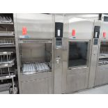 Lot of (2) Steris Reliance 400 glassware washer, located in B wing, 4th floor, room 440C