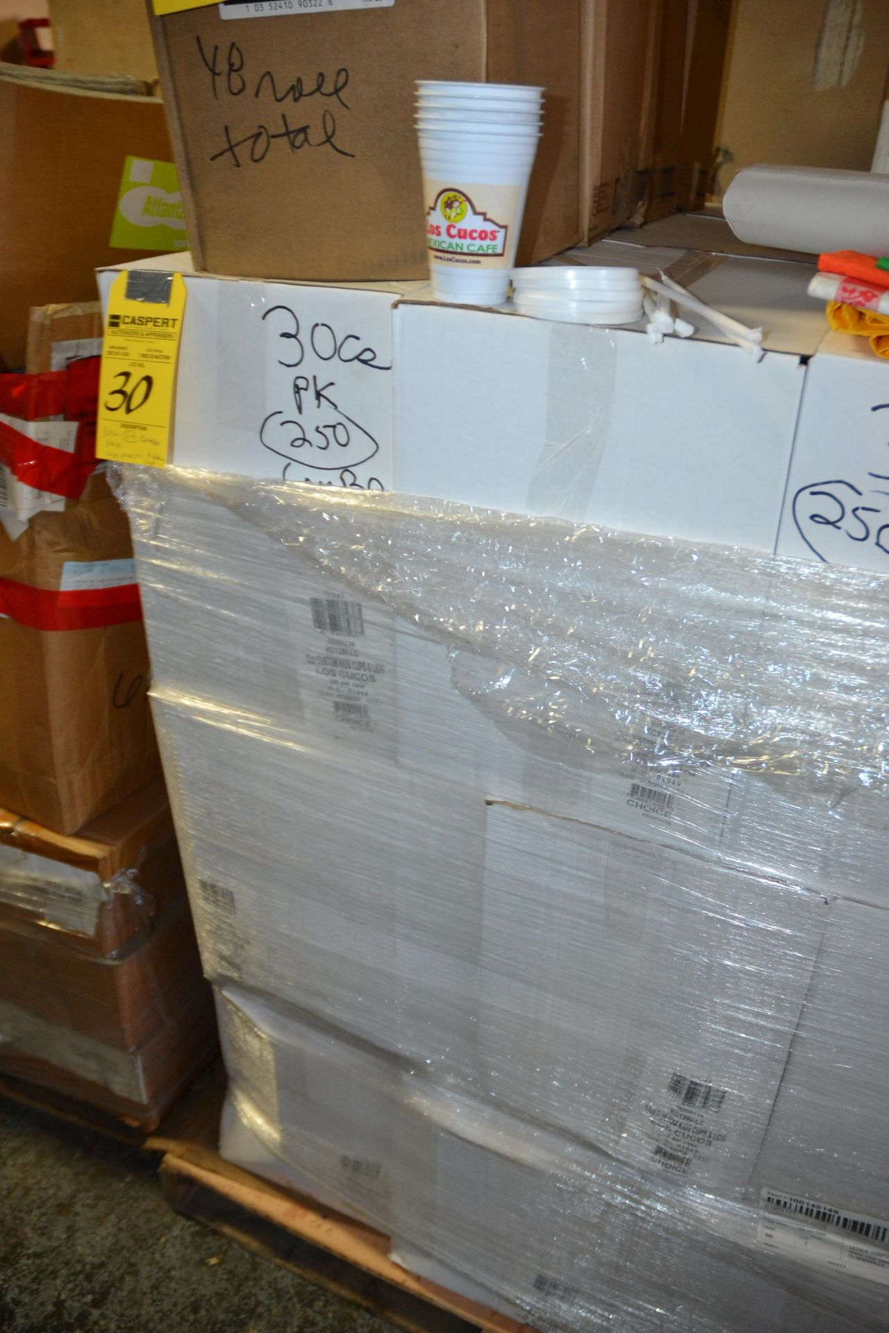 Lot 30 - CASES (250) 12OZ. PLASTIC KIDDIE CUPS