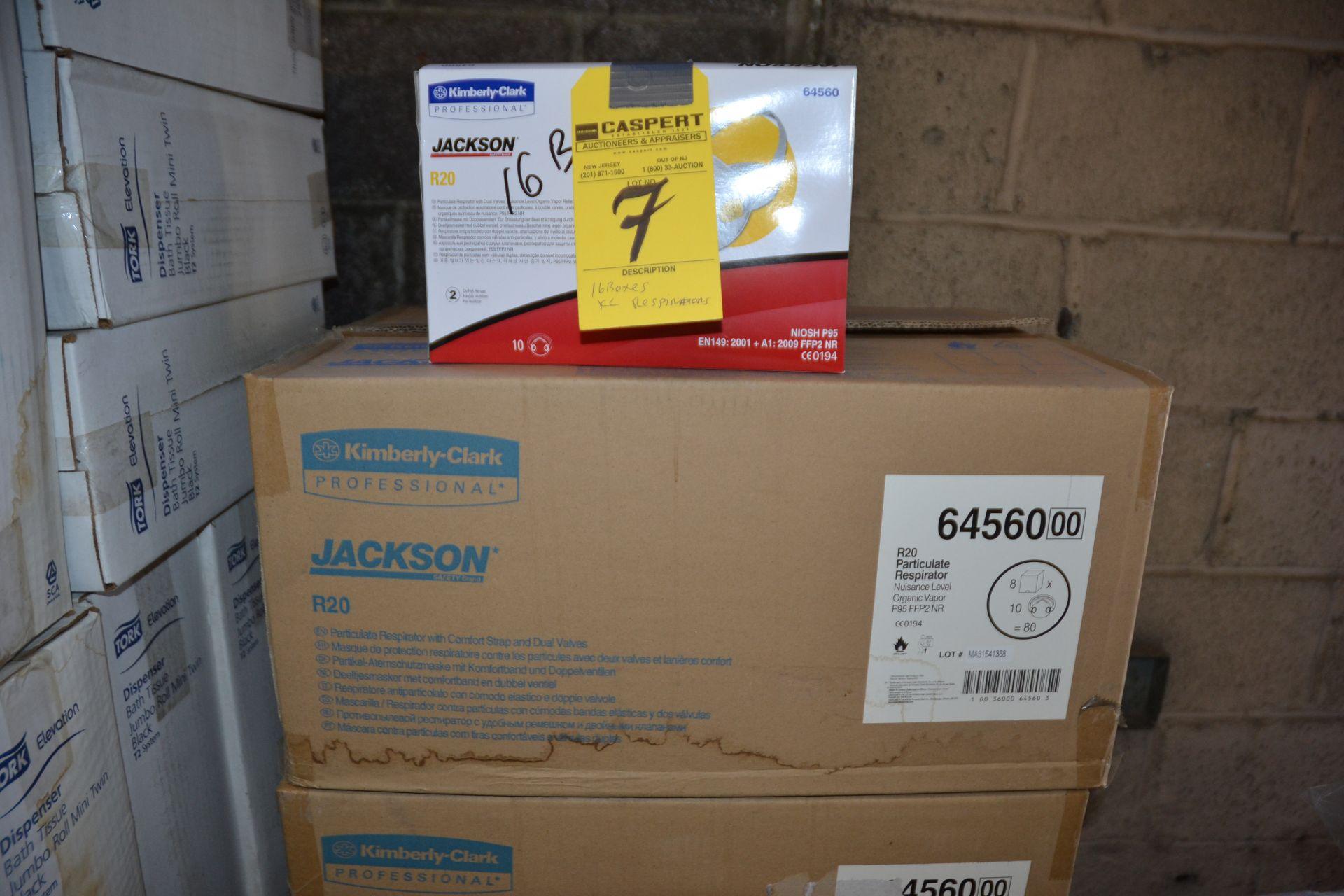 Lot 7 - BOXES PROFESSIONAL RESPIRATORS