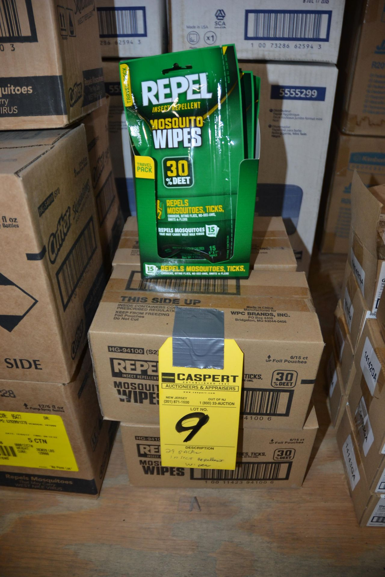 Lot 9 - PACKAGES OF INSECT REPELLENT